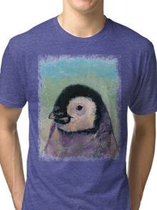 Penguin Chick Tri-blend T-Shirt