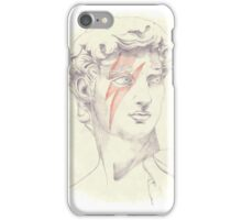 David: Michelangelo and Bowie iPhone Case/Skin