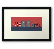 LGBT. How is this still an issue?   Framed Print