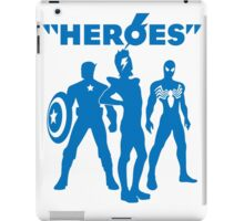 heroes: bowie and his super friends iPad Case/Skin