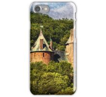 Castell Coch Rising Above The Forest iPhone Case/Skin