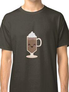 Cute Kawaii Chocolate Milkshake Sundae Classic T-Shirt