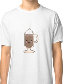 Cute Kawaii Chocolate Milkshake Sundae Classic T-Shirt