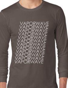 Multi VAPORWAVE White Letters Long Sleeve T-Shirt