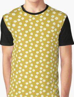 Elderflowers on ochre Graphic T-Shirt