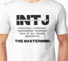 INTJ - Mastermind - Dark Text Unisex T-Shirt