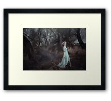 Your soul drowns in your deepest dreams Framed Print