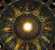 Ceiling Of A Church by Tina Hailey