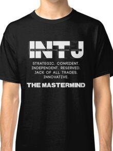 INTJ - Mastermind - Light Text Classic T-Shirt