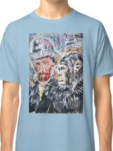 Vincent and the chimp Classic T-Shirt
