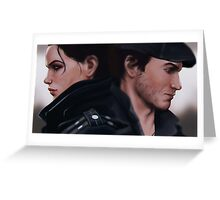 Jacob and Evie Frye Greeting Card