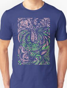 Pattern flowers T-Shirt