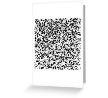 Dirty splash texture background or Abstract spatter Greeting Card
