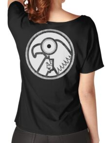 Gravity Falls- goverment agent logo Women's Relaxed Fit T-Shirt