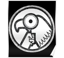 Gravity Falls- goverment agent logo Poster