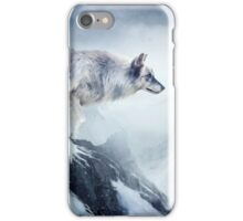 The wolf and the moon iPhone Case/Skin
