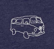 Sketchy Camper Tri-blend T-Shirt