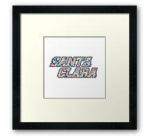 Santa Clara Framed Print