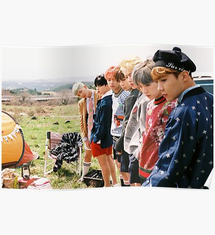 BTS Young Forever Poster
