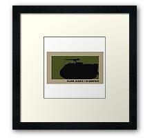 Major League Cavalryman - M113 Framed Print