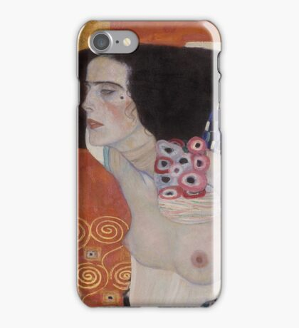 Gustav Klimt  - Judith   iPhone Case/Skin