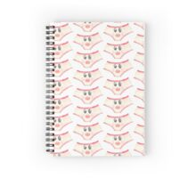 Cute Watercolor Panties Spiral Notebook