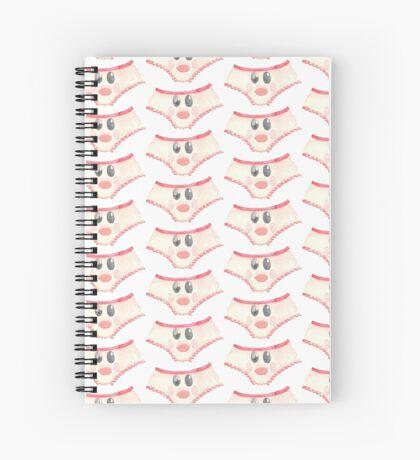 Cute Watercolor Panties Spiral Notebook