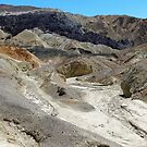 A Geological Smorgasbord - Twenty Mule Team Canyon, Death Valley, Inyo Canyon, CA by Rebel Kreklow