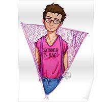 Hipster!Mulder Poster