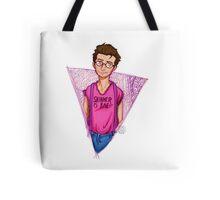 Hipster!Mulder Tote Bag
