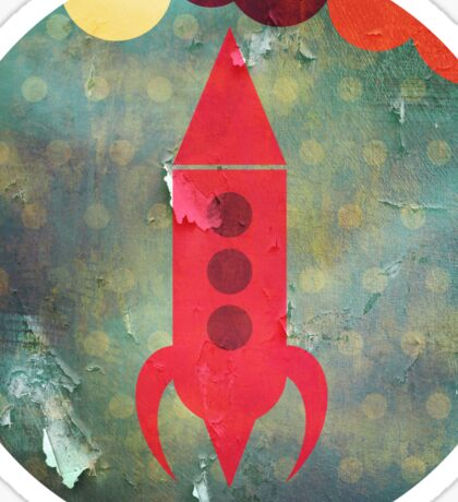 The Rocketship Sticker