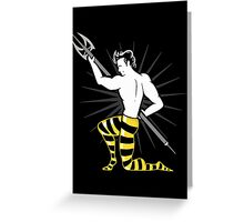 Live Boldly (Me Before You, Finnick) Greeting Card