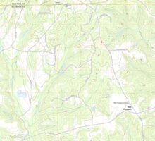 USGS TOPO Map Alabama AL White City 20110927 TM Sticker