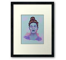 Pastel Goth Framed Print
