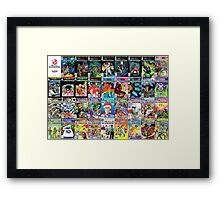 NOW RGB Covers Framed Print