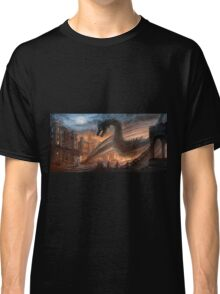 Dragon fight - Elegy of Fire Classic T-Shirt