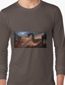 Dragon fight - Elegy of Fire Long Sleeve T-Shirt
