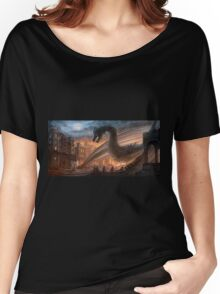 Dragon fight - Elegy of Fire Women's Relaxed Fit T-Shirt