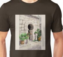 Arab Baths Palma de Mallorca DP151029b-14 Unisex T-Shirt