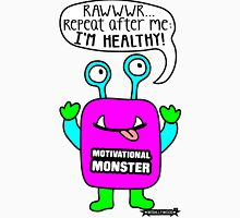 Motivational Monster I'm healthy! by Wishllywood ™ Tank Top