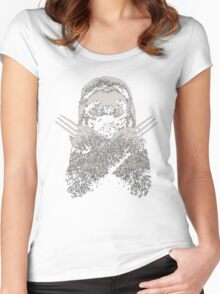 Slotherine Women's Fitted Scoop T-Shirt