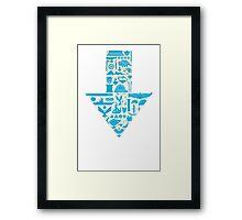 Avatar the Last Airbender Arrow Framed Print