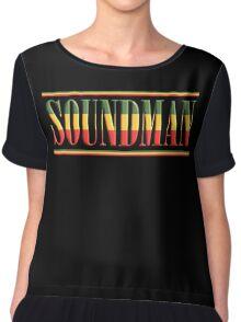 Reggae Soundman Bold Chiffon Top