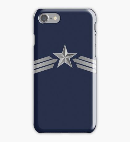 The First Avenger iPhone Case/Skin