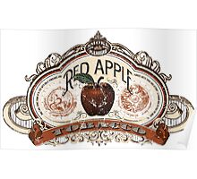Red Apple Tobacco Poster