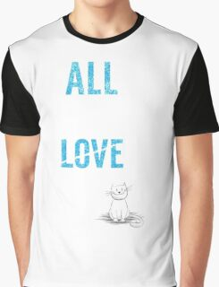 All You Need Is A Cat TShirt Adopt Pet Kids Need Love Too Womens Pets Rescue Ladies Tee Graphic T-Shirt