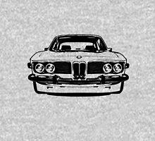 1972 Bmw 3.0cs - Black and White Unisex T-Shirt