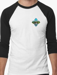 Pontoon Boat Fishing Men's Baseball ¾ T-Shirt