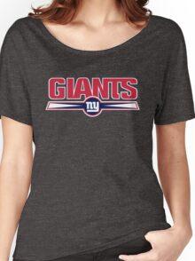NEW YORK GIANTS LOGO Women's Relaxed Fit T-Shirt