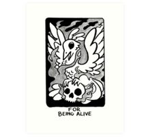 Sigil For Being Alive Art Print